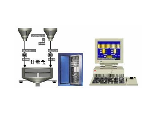 玻璃自动化配料系统